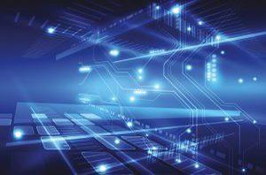 Leiterbahnen Grafik ESS Embedded Systems Solutions GmbH Elektronikentwicklung